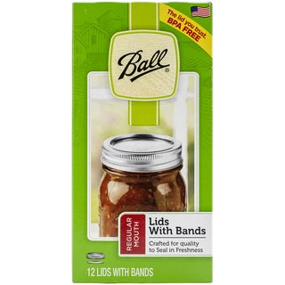 Ball Regular Mouth Lids & Bands 12/Pkg