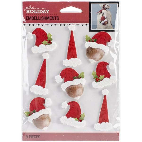 Jolee's Christmas Stickers-Santa