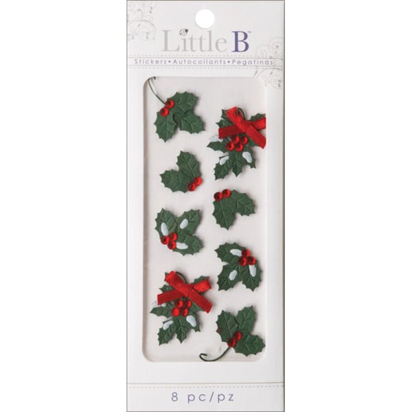 Little B Mini Stickers-Holly & Berries
