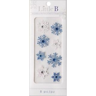 Little B Mini Stickers-Snowflakes