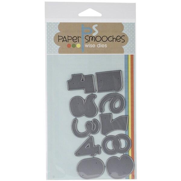 Paper Smooches Die-Digits