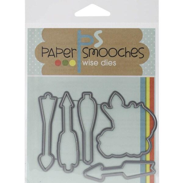 Paper Smooches Die-Love Struck