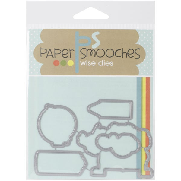 Paper Smooches Die-Smarty Pants