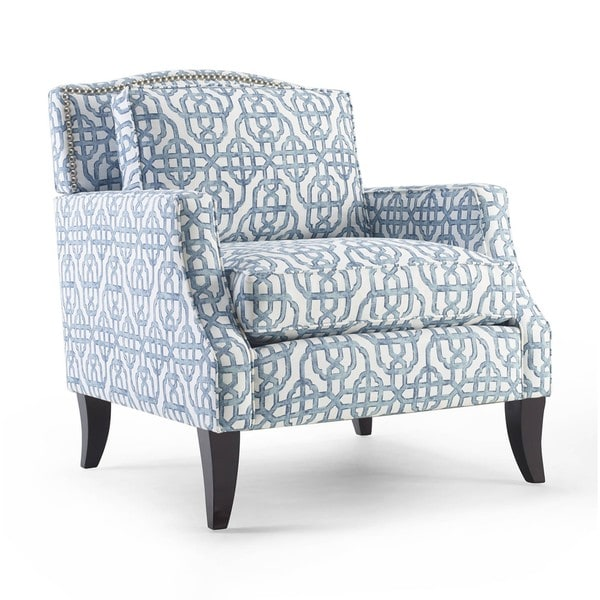 Overstock Living Room Chairs : Sonoma Chair Blue - Overstock Shopping - Great Deals on ...
