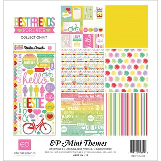 """Echo Park Collection Kit 12""""X12""""-Best Friends Forever"""