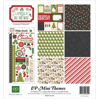 """Echo Park Collection Kit 12""""X12""""-Jingle All The Way"""