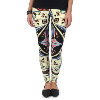 Hailey Jeans Co. Junior's Soft Geometric Print Leggings