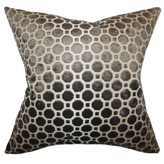 Kostya Terrain Geometric 18-inch Feather and Down Filled Pillow