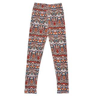 Hailey Jeans Co. Girl's Soft Geometric Print Leggings