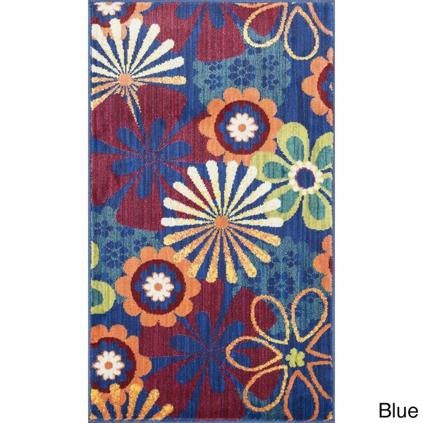 Tinsley Retro Floral Multi Runner Rug (2'2 x 5'0)