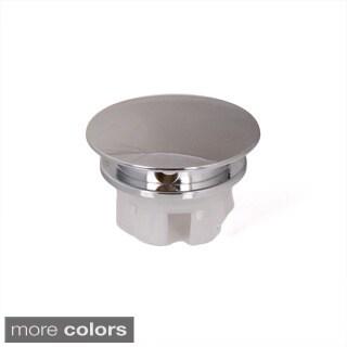Ceramic Sink Overflow Cap Solid Brass Umbrella Style