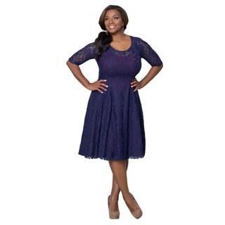 Kiyonna Women's Plus Size 'Sweet Leah' Lace Dress