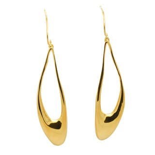 De Buman 18k Goldplated Dangle Earrings