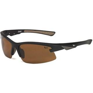 Coleman Men's 'Fullforce' Sport-frame Wrap Sunglasses