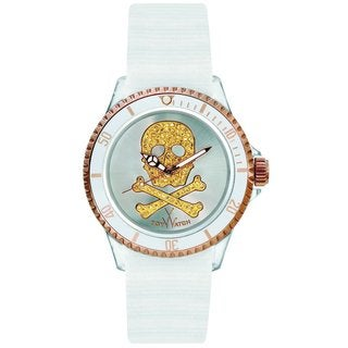 Toy Watch Women's S04WHPG Polycarbonate and Canvas Watch