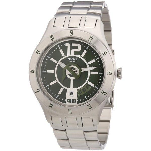 Swatch Men's Irony Silver Steel Quartz Watch