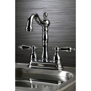 Victorian Polished Chrome Bar Faucet