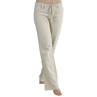 ToBeInStyle Women's Comfy Casual Pants with Drawstring Waist