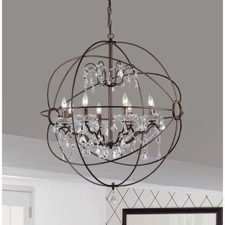 Edwards Antique Bronze 32-inch Chandelier