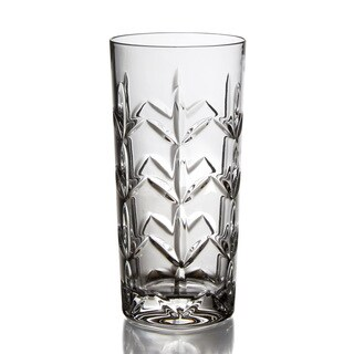Fitz and Floyd Fleur Hi-ball Glasses (Set of 4)