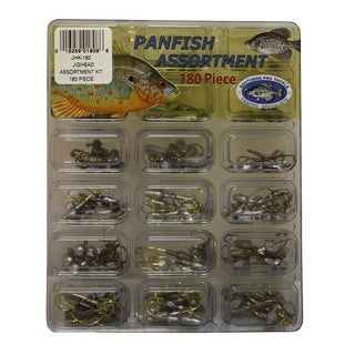 Southern Pro 180-piece Jig Head Kit