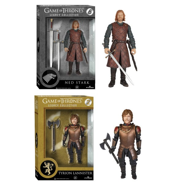 Game of Thrones Legacy Collection: Ned Stark and Tyrion