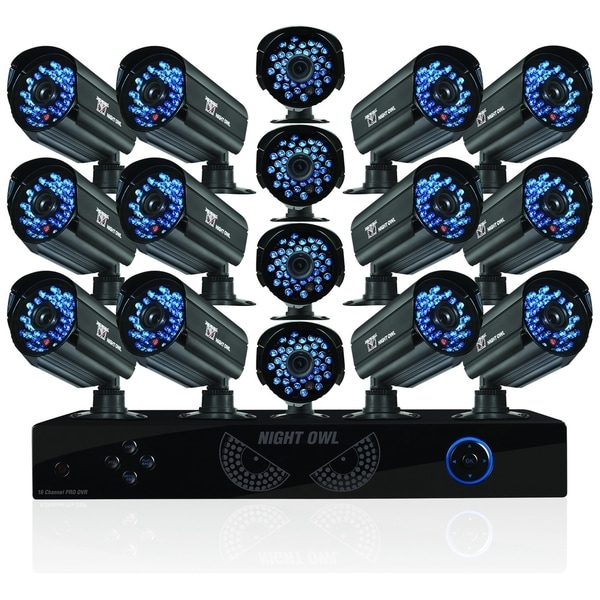 Night Owl Elite E-16161TB Video Surveillance System