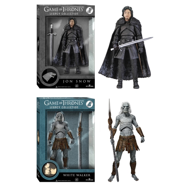 Game of Thrones Legacy Collection: Jon Snow and White Walker