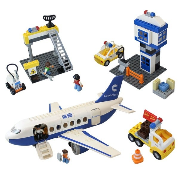 Dimple Child MiniBricks Airbus Passenger Airplane Set