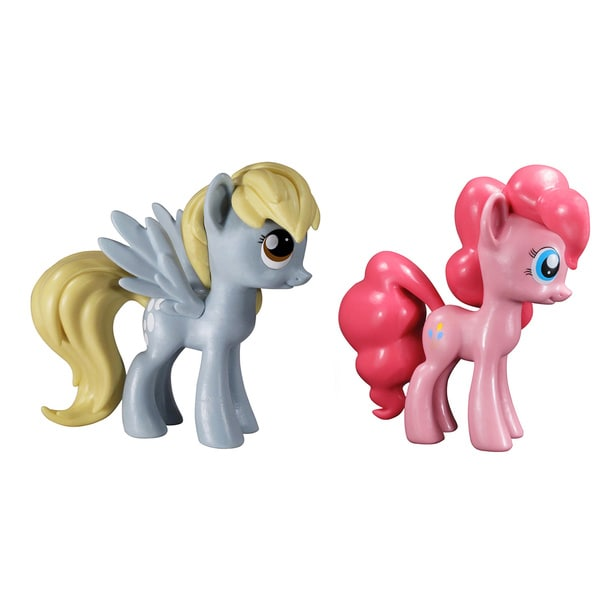 My Little Pony Vinyl Collectables Set: Derpy and Pinkei Pie