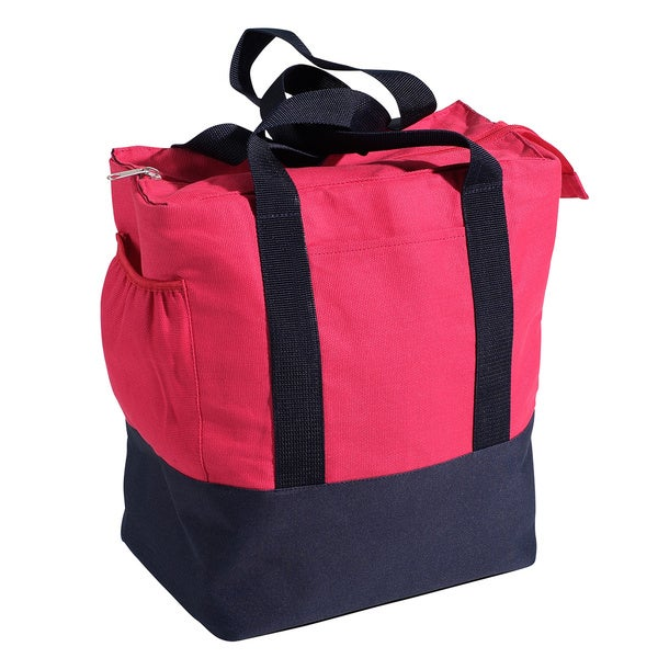 Nantucket Bicycle Basket Co. Pink Rear Pannier Bag