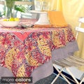 Couleur Nature Bougainvillea Square Tablecloth