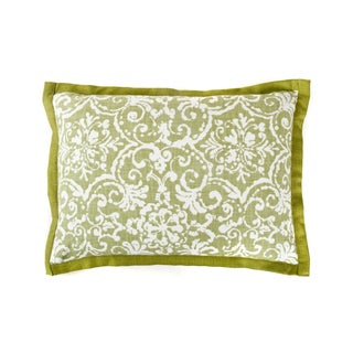 Jiti Primitiave Green Cotton Pillow