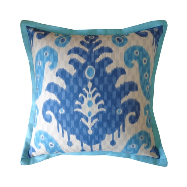 Jiti Spirit Blue Pattern Cotton Pillow