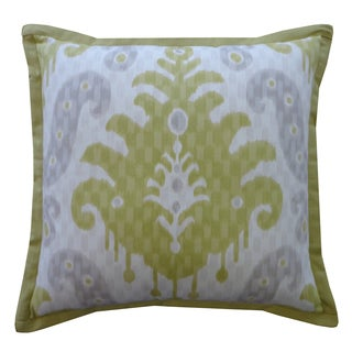 Jiti Spirit Yellow Patterned Cotton Pillow