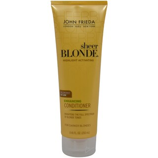 John Frieda Sheer Blonde Highlight Activating Enhancing For Darker Blondes 8.45-ounce Conditioner