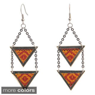 Amina Aguayo Dangle Earrings (Bolivia)