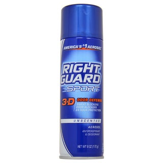 Right Guard Sport 3-D Odor Defense 6-ounce Antiperspirant and Deodorant Aerosol Spray