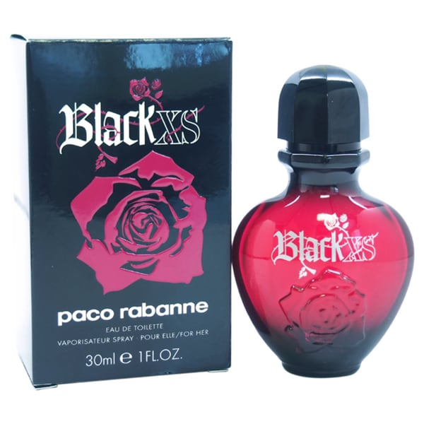Paco Rabanne Black XS Women 1-ounce Eau de Toilette Spray