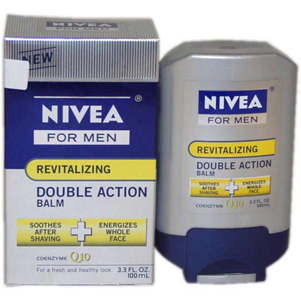 Nivea Revitalizing Double Action Men's 3.3-ounce Shave Balm
