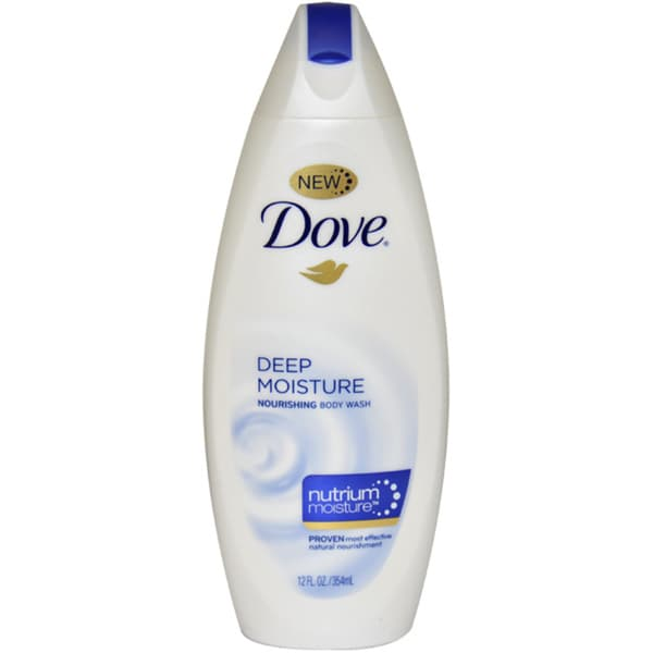 Dove Deep Moisture Nourishing with NutriumMoisture 12-ounce Body Wash