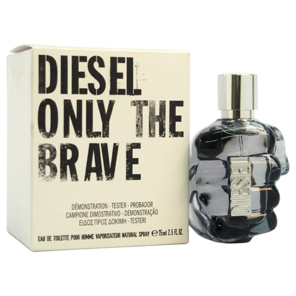 Diesel Only The Brave Men's 2.5-ounce Eau de Toilette EDT Spray