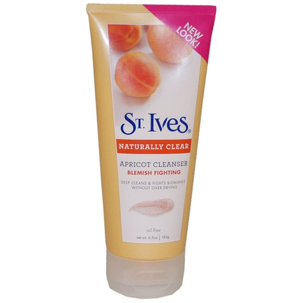 St. Ives Naturally Clear Blemish and Blackhead Control Apricot 6-ounce Scrub