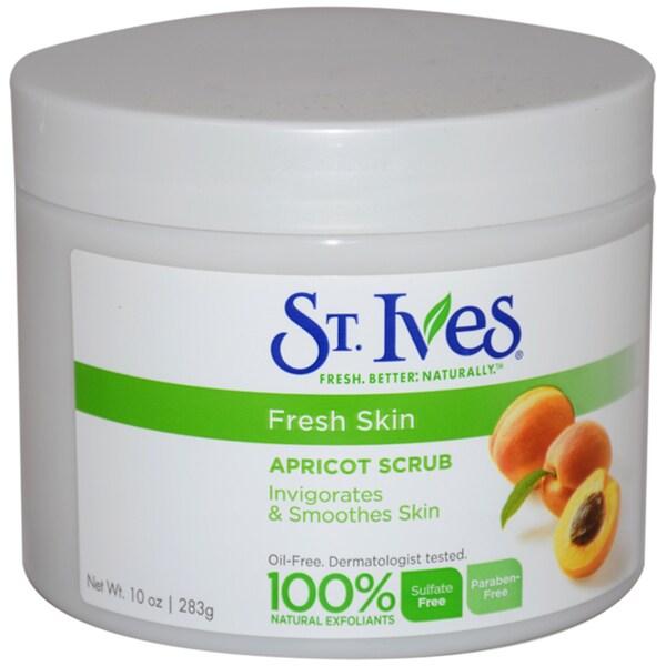St. Ives Fresh Skin Invigorating Apricot 10-ounce Scrub