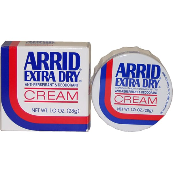 Arrid Extra Dry Antiperspirant and Deodorant 1-ounce Cream