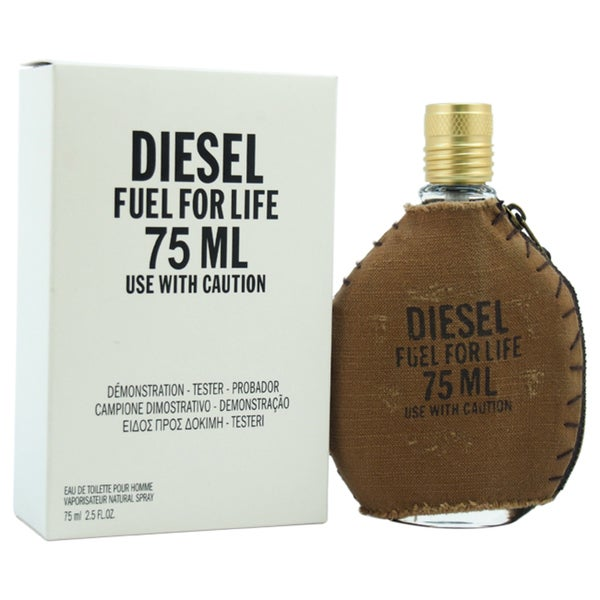 Diesel Fuel For Life Pour Homme Men's 2.5-ounce Eau de Toilette Spray (Tester)