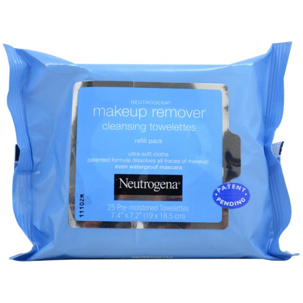 Neutrogena Make-up Remover Cleansing Towelettes Refill Pack (25 Towelettes)