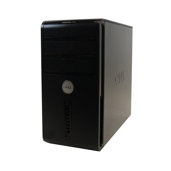 DELL Vostro 200 Core2Duo 2.2GHz 4GB 250GB DVD-CDRW COMBO Windows7Home Premium MT Computer (Refurbished)