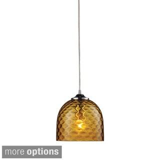 Elk Lighting Viva Single-light Polished Chrome Pendant