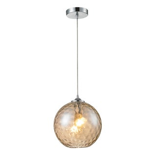 Elk Lighting Watersphere 1-light Polished Chrome Pendant